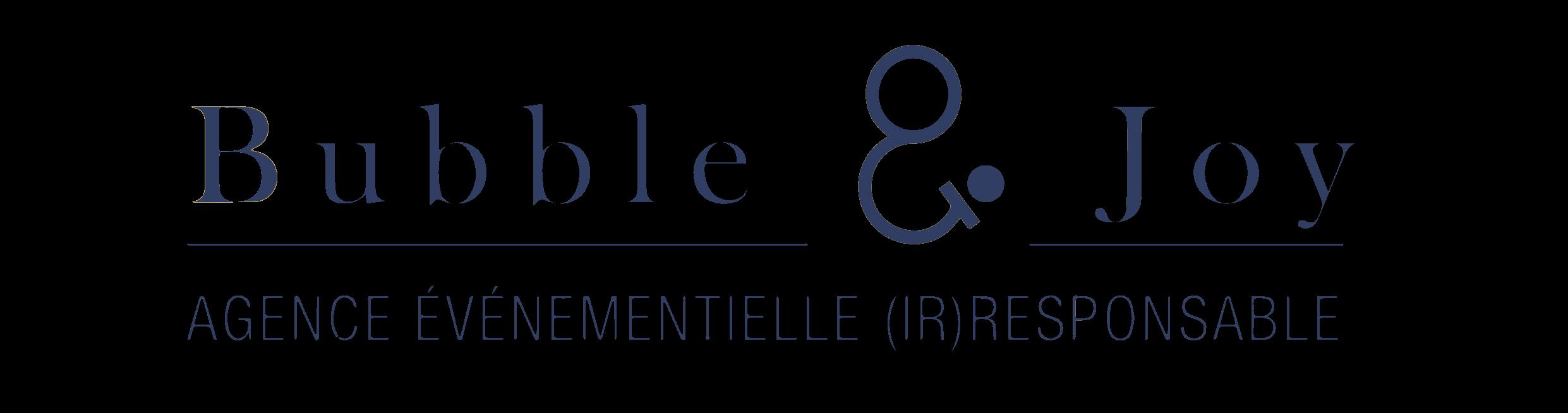 Bubble & Joy Logo